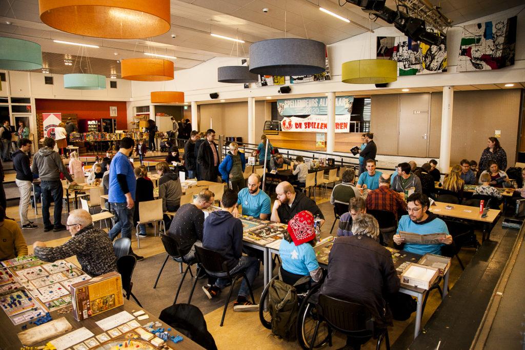 Overzichtsfoto Spellenbeurs Alkmaar 2020